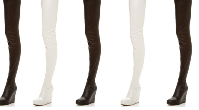 Maison Martin Margiela Thigh High Boots Header